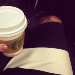 I only have Starbucks on rare occasions. But when I do, I stick to plain coffee and ask for heavy whipping cream!